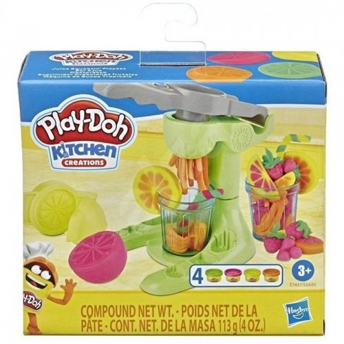Play Doh Kitchen Creations Assortment Bundle: Juice Squeezin' Toy Juicer Play Set Or Taco Time Play Set