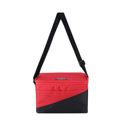Igloo Collapse & Cool Soft-Side Cooler, Red, 2.12 L