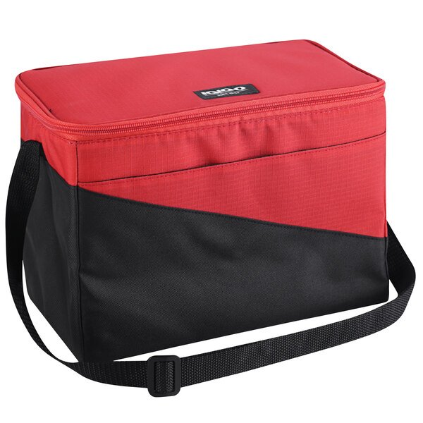 Igloo Red Small Insulated Sport Collapse and Cool Cooler Bag