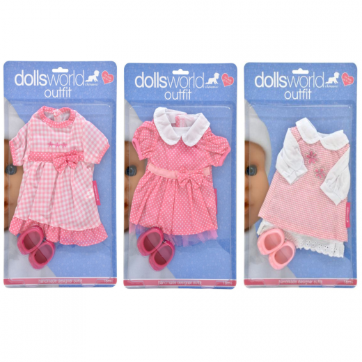 Dolls World Magic Outfit & Shoes 36cm | Assorted