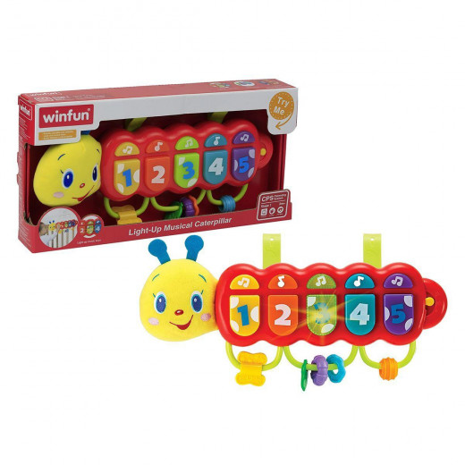 Winfun Colored Centipede Toy With Light and Sound