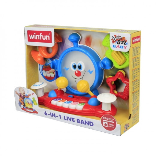 Winfun 6-In-1 Live Band Toy for Kids