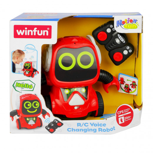 Winfun Voice Changing Robot With Remote Control