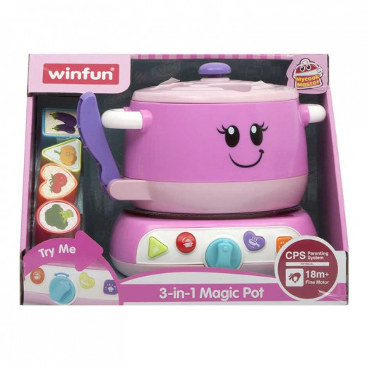 Winfun Magic Pot Set with 3-in-1 Toy Stove